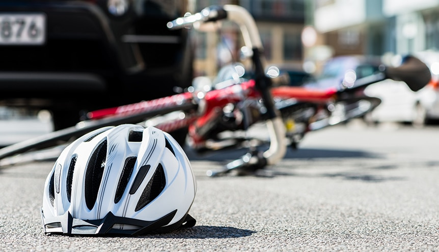 Bicycle and Pedestrian Accident
