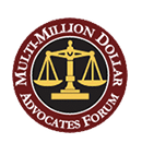 Logo, Multi-Million Dollar Advocates Forum